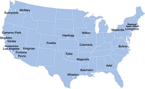 Locations JM Eagle